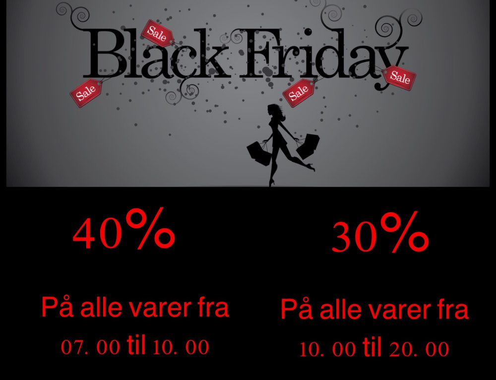 BLACK FRIDAY HOS B.YOUNG